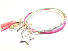 Spring to Fall: Giveaway! Win our new Wish collection :) Set of 3 bracelets, choose your own colours!
