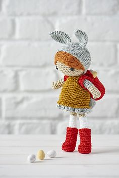 Ravelry: Finders Keepers Amigurumi Doll pattern by Ilaria Caliri (aka airali)