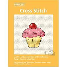 Hobbycraft Easter Cupcake Mini Cross Stitch Kit