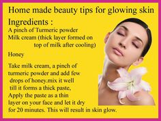 Home ingredients are easily available and natural .Check this beauty tip for glowing skin.  #naturalhealthtips #beautytips #beauty
