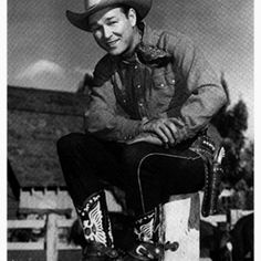 The one and only Roy Rogers-happy trails Roy!