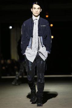#Menswear #Trends Dries Van Noten Menswear Fall Winter 2014 Otoño Invierno #Tendencias #Moda Hombre