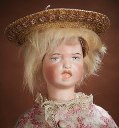 At Play in a Field of Dolls (Part 1 of 2-Vol set): 7 Very Rare French Bisque Double-Faced Poupee by Leon Casimir Bru,Depose Model