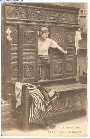 r sultat de recherche d 39 images pour lit clos breton mobilier la ville et la campagne en. Black Bedroom Furniture Sets. Home Design Ideas