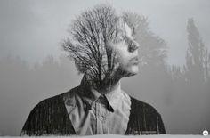 Nicolas Balcazar startet durch mit seinen schwarz-weißen Portrait-Fotos mit Naturmotiven.