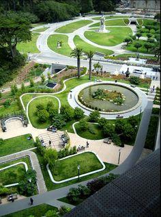 ARQUITECTURA ESPECTACULAR: ACADEMIA DE LAS CIENCIAS Renzo Piano, Amazing Architecture, Landscape Architecture, Landscape Plaza, Academia, Golf Courses, Exterior, Garden, Seas