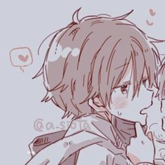Cute Anime Profile Pictures, Matching Profile Pictures, Friend Anime, Anime Best Friends, Anime Couples Drawings, Couple Drawings, Anime Love Couple, Cute Anime Couples, Anime Couples Manga