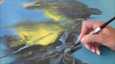 Abstract acrylic painting - Démonstration peinture abstraite (12) -  Althea - YouTube