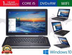 DELL LATITUDE E6320 LAPTOP WINDOWS 10 WIN INTEL i5 2.5GHz 4GB DVD-RW HDMI WEBCAM
