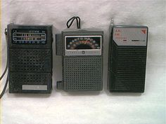 Transistor radio - always slept with one hidden sneakily under my pillow!