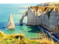 Etretat, Normandy, France (by fotoart1945)