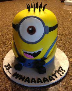 Minion cake!!!