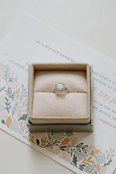 Engagement ring: http://www.stylemepretty.com/2014/04/23/pink-peach-backyard-charleston-wedding/ | Photography: Shannon Michele -  http://shannonmichelephotography.com/