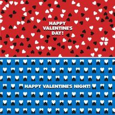 день и ночь Святого Валентина. Postcard © Максим Гурбатов.