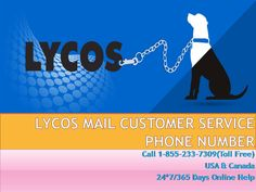 Lycos Mail support, help regarding all types of technical issues that occur in Lycos Mail settings, setup, password reset, recovery, email sending & receiving error and many more just call Lycos Mail customer service phone number now and get solution