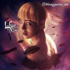Finished!! #Tae - Fallen Angel  Please tag @bts.bighitofficial everyone help me get them to see it  #wings  #bloodsweat #BTS #방탄소년단 #bangtansonyeondan #bangtan #taehyung #뷔 #blankTae #kpopfanart #Kpop #btsfanart #kpopart #digitalart #digitalartwork #drawing / #luzgunarce_sm