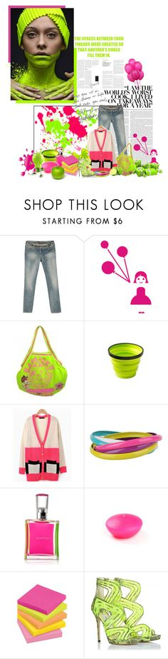 """Happy Birthday!!"" by achie ❤ liked on Polyvore featuring Disguise, Wall Pops!, Balmain, Harajuku Lovers, Camp, Forever 21, Tokyo Rose, Jimmy Choo and Nexus"