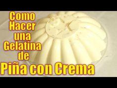 Gelatin Recipes, Jello Recipes, Crepe Recipes, Mexican Food Recipes, Jello Desserts, Sweet Desserts, Just Desserts, Pineapple Jello, Potato Bread