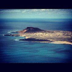 """Photo from the Instacanvas gallery for ilaria_agostini. Lanzarote, Canary islands, Spain. View from """"El Mirador del Rio"""""""
