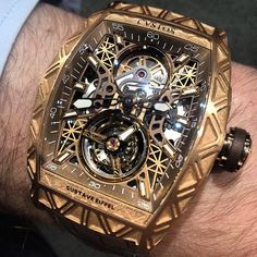 See luxury watches. Patek Phillippe, Hublot, Rolex and much more. Elegant Watches, Stylish Watches, Luxury Watches For Men, Beautiful Watches, Cool Watches, Rolex Watches, Patek Philippe, Jordans Retro, Tourbillon Watch