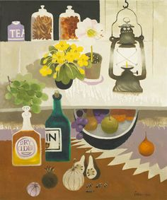 Mary Fedden | Lamplight