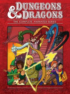 Dungeons & Dragons: The Series Dungeons Delves and Dice 1980 Cartoons, Old School Cartoons, Dungeons And Dragons Movie, Dragon Movies, Morning Cartoon, Classic Cartoons, Animation Series, Fantasy World, 80 Cartoons