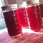 Plum Jam Ingredients: 4 ½ cups pitted, chopped plums ½ cup water 7 ½ cups white sugar ½ teaspoon butter (optional) 1 ounce) package powdered fruit pectin 8 half-pint canning jars with lids and. Plum Jelly, Jam And Jelly, Plum Jam Recipes, Red Plum, Yellow Plums, Canning Recipes, Canning Jars, Drink Recipes, Healthy Eating Tips