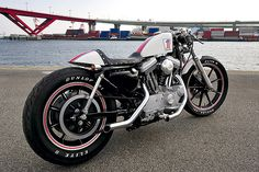 custom harley xl 1200s by bzr182, via Flickr