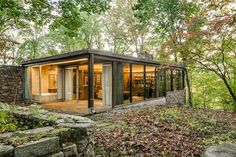 Richard Neutra. One of the architect's legendary designs nestled in a bucolic nature preserve