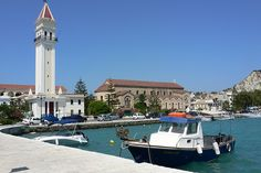 (Grandpa Takis) St Denis Church in Zante town, Zakynthos, Greece Photo: Heatheronhertravels.com