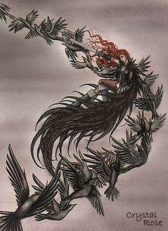 The Morrigan by redheaded-step-child.deviantart.com on @deviantART