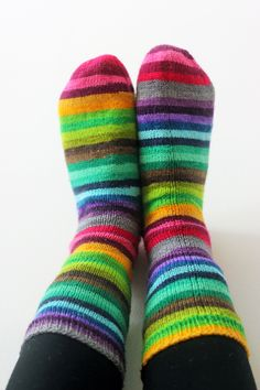 Sock FO :: I Believe In The Impossible — Tanis Fiber Arts