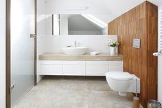 Biała łazienka z elementami... |  Białe łazienki – 12 najpiękniejszych wnętrz