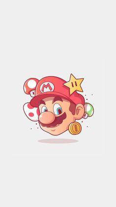 Ps Wallpaper, Cartoon Wallpaper, Gaming Wallpapers, Cute Wallpapers, Game Character, Character Design, Super Mario Art, Super Mario Tattoo, Image Digital