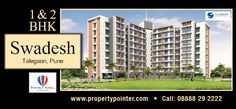 Swadesh Talegaon Pune one of the most sought for residential project by Saarrthi Group makes your dream come true to buying pocket friendly homes - http://goo.gl/16edXQ