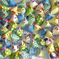 Mini-Osterhühner | Gratis Nähanleitung