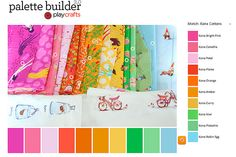 Palette builder - kona matching from play crafts, drooling
