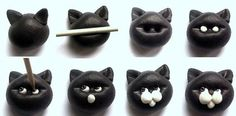 Marzipan Cat Faces