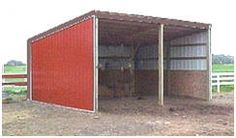 Small Pole Barn, Shed and Run-In Plans at EasiPlans.com