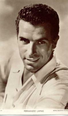 Fernando Lamas was the inspiration for Billy Crystal's popular Saturday Night Live character of Fernando and the catchphrase: You look mahvelous. Old Hollywood Style, Hooray For Hollywood, Hollywood Actor, Golden Age Of Hollywood, Hollywood Celebrities, Vintage Hollywood, Hollywood Stars, Classic Hollywood, Hollywood Glamour