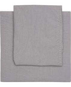 Magasin Stonewashed sengesæt grey