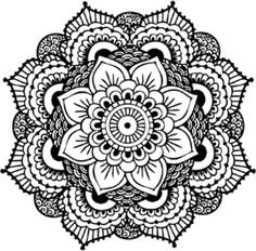 Black and white flower by tacodwarf