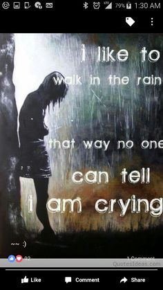 Girl Crying In The Rain Anime Girl Crying In The Rain Quotes