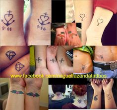 Miguel Fazenda Tattoos: Best Friends Tattoo