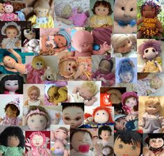 On more Congratulations to the 2014 Cloth Doll Challenge Entries!  All Beautiful Dolls!  Check them out at...  http://clothdollbabies.com/challenge2014/index.html