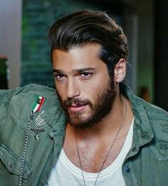 62 ideas piercing men face beautiful eyes for 2019 Turkish Men, Turkish Actors, Beautiful Eyes, Gorgeous Men, Oldschool, Beard Lover, Stylish Boys, My Hairstyle, Interesting Faces