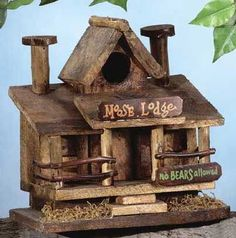 pictures of birdhouses | Decorative Birdhouse, Wooden Birdhouses, Decorative Bird Feeder