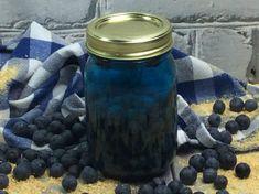 Blueberry Cobbler MOONSHINE! Strawberry Moonshine Recipe, Blueberry Moonshine, Blueberry Syrup, Blueberry Cobbler, Summer Drinks, Fun Drinks, Alcoholic Drinks, Cocktails, Martinis