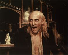 Richard O'Brien writer of the Rocky Horror Show (and Riff Raff in the movie)