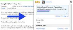 Using Hashtags for On-Page Optimization #socialmedia #seo